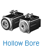 hollow bore servo motor
